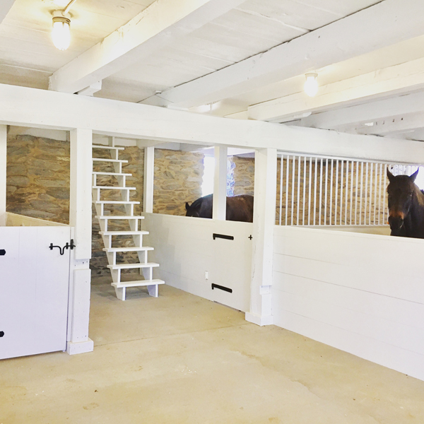 beautiful barn restoration project white interior