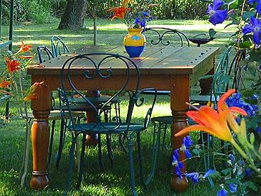 apres dining garden