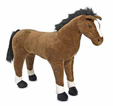 Life-Sized Stuffed Horse