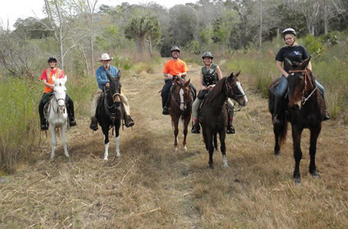florida trail riding