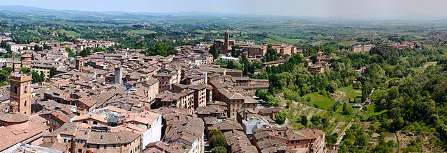 siena view from the campinale