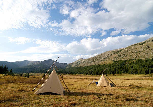7 lazy p montana camping