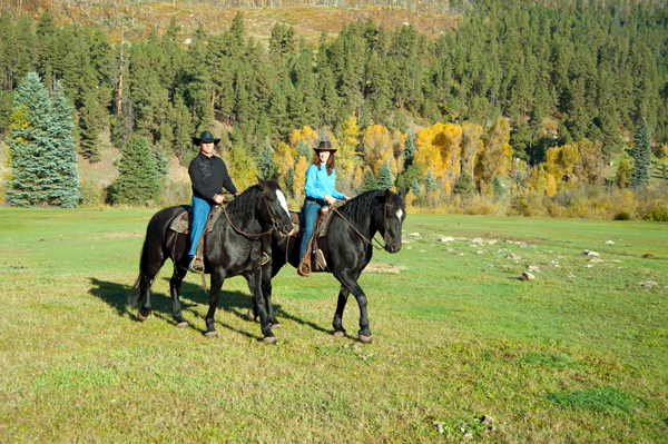 wilderness trails ranch fall colors horse ride