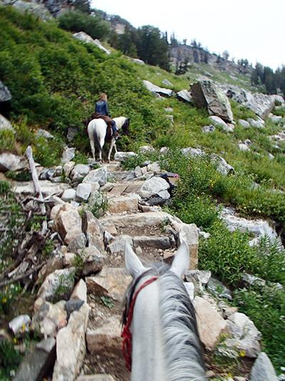 Alaska Basin horseback riding