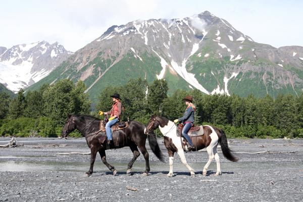 alaska horse riding seward