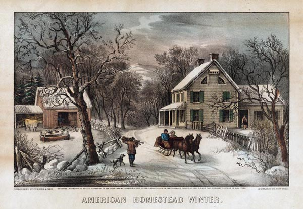 Currier and Ives public domain royalty free