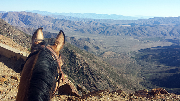 Anza Borrego southern California horseback riding PCT