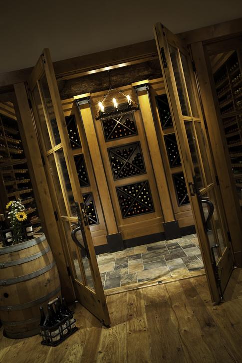 Brush Creek Ranch Wine Cellar