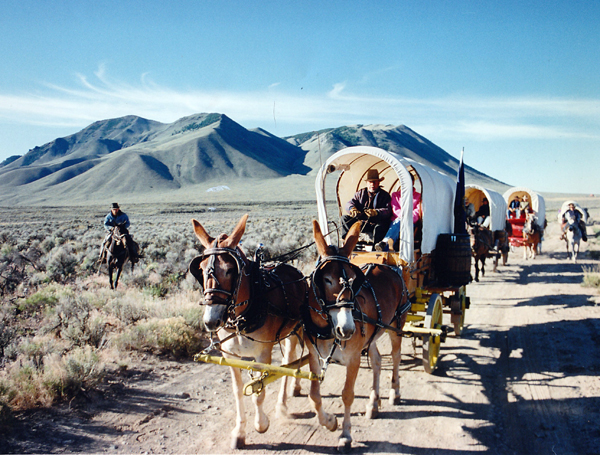 Wagon train vacation