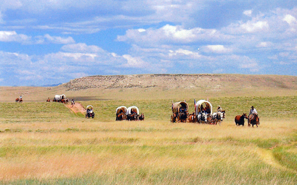 Ben Kern Wagon Train
