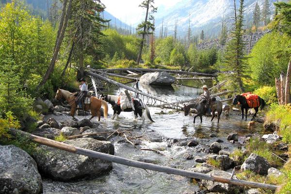 blogdett bridge montana horseback