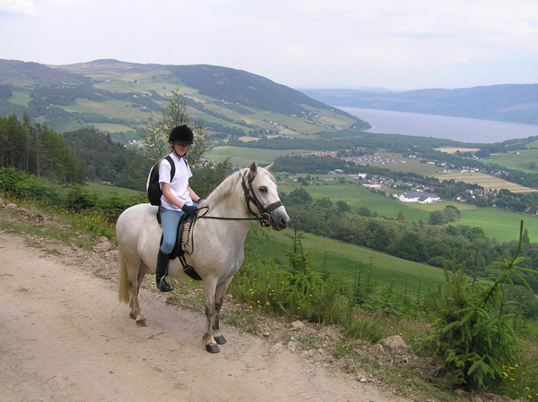 Borlum Farms Scotland Loch Ness Horse Ride