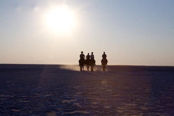 Botswana Makgadikgadi Pans Horse Safari