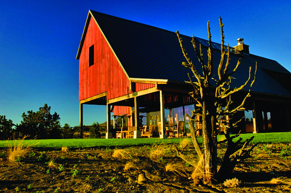 Brasada Ranch barn