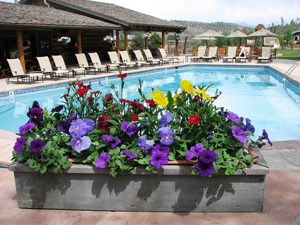 C Lazy U Ranch Pool ranches with pools
