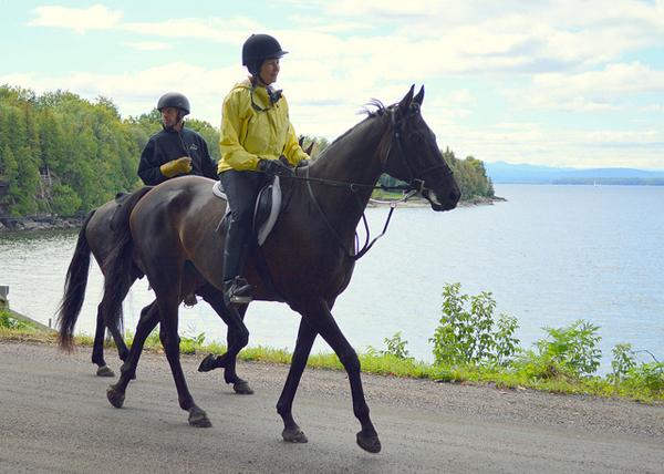 CHAMP Benefit Trail Ride Vermont