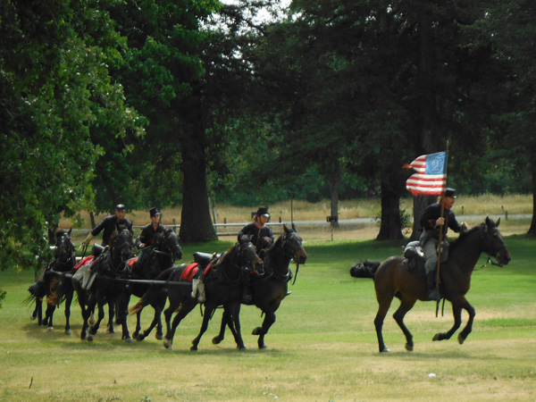 CHAS Standardbreds reenactment