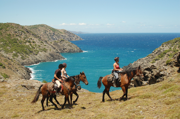 Horseback Riding Cap de Creus Catalonia Spain