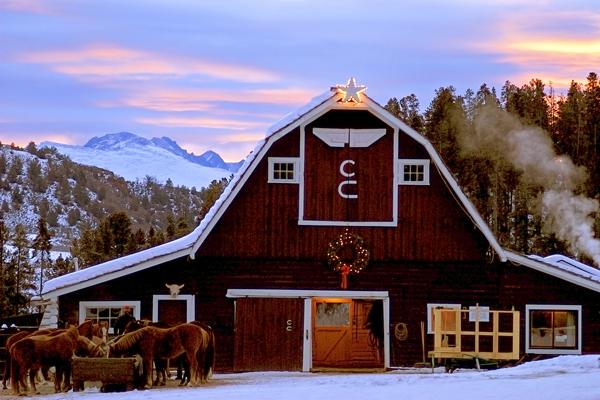 C Lazy U Ranch barn