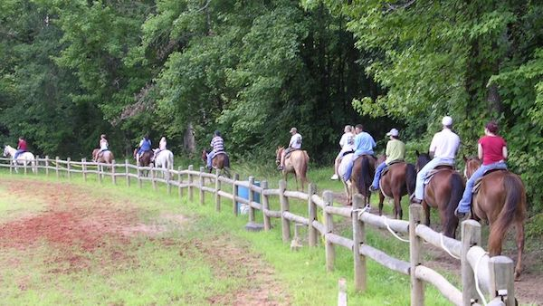 chickasaw state park horseback riding