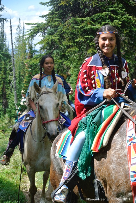 Nez Perce Appaloosas Trail Ride