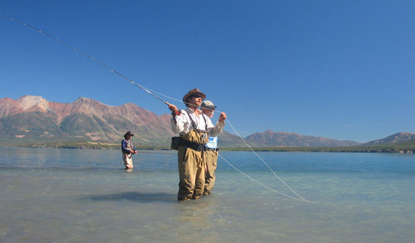 chilko lake fly fishing tsylos park lodge