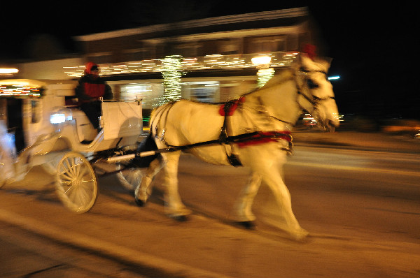 Frankenmuth Christmas horse parade