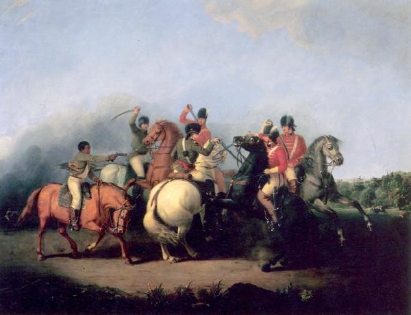 cowpens American Revolution horses