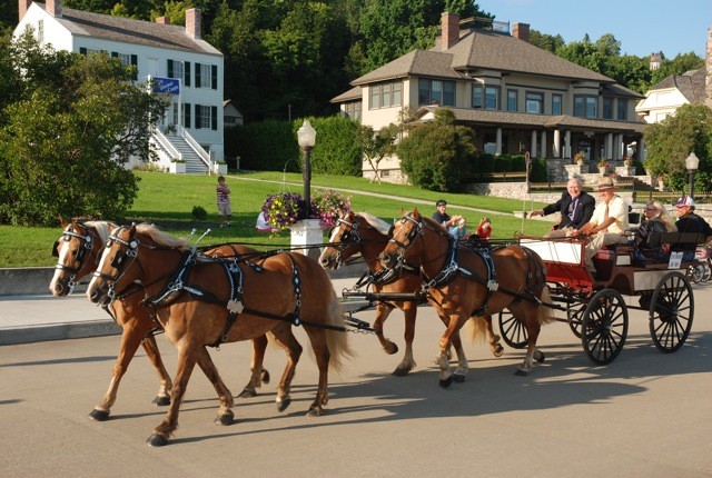 Festival of the Horse on Mackinac Island