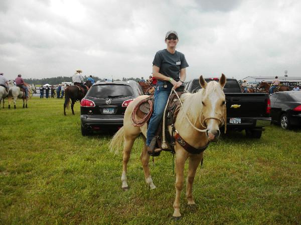 Trail builder Susan Stormer enjoys her equestrian career