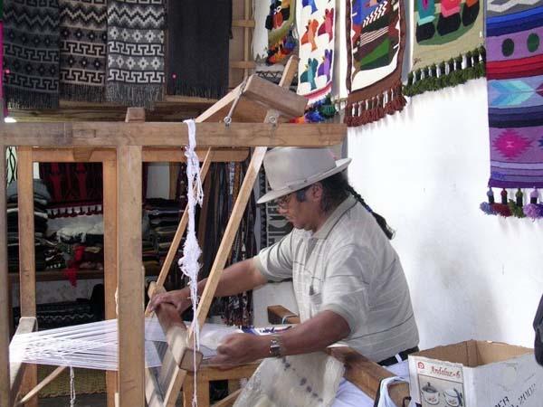 Ecuador weaving