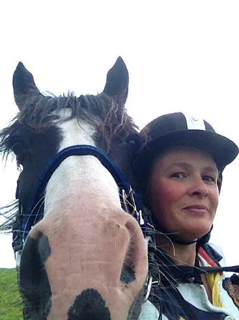 Tracy Thomas FreeRein Riding Holiday horse