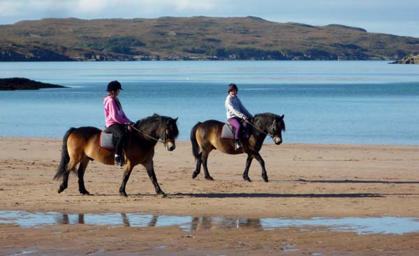Gairloch Trekking Centre Scotland Beach Riding