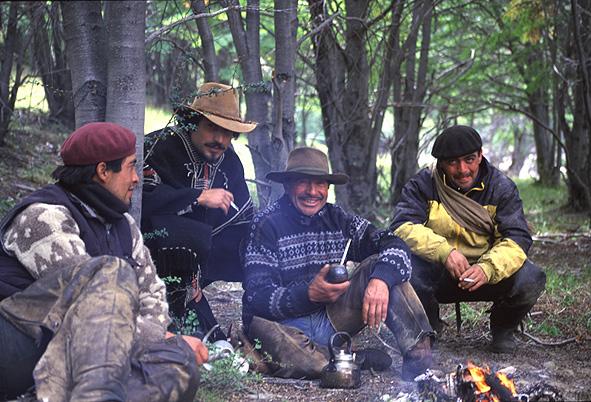Chile gauchos