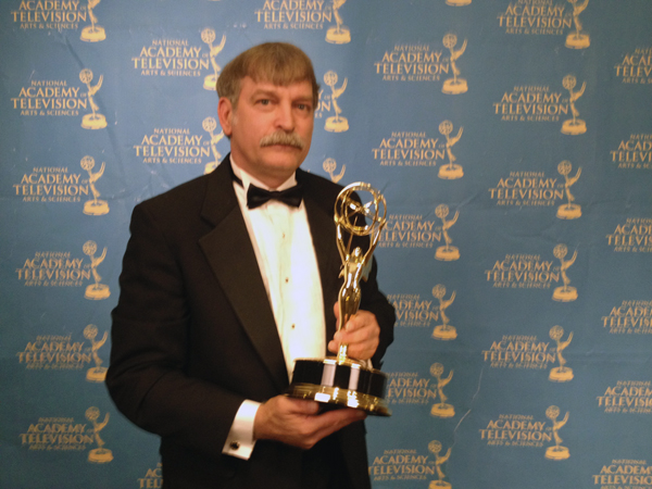 Greg Barna Daytime Emmy for Equitrekking
