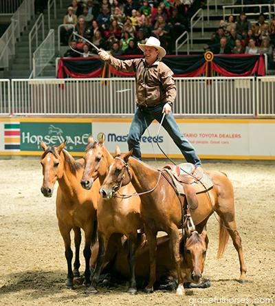 Guy McLean Royal Winter Fair Toronto horseback