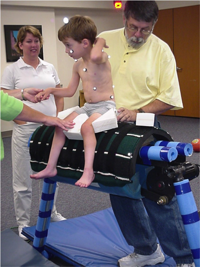 cerebral palsy study equine therapy