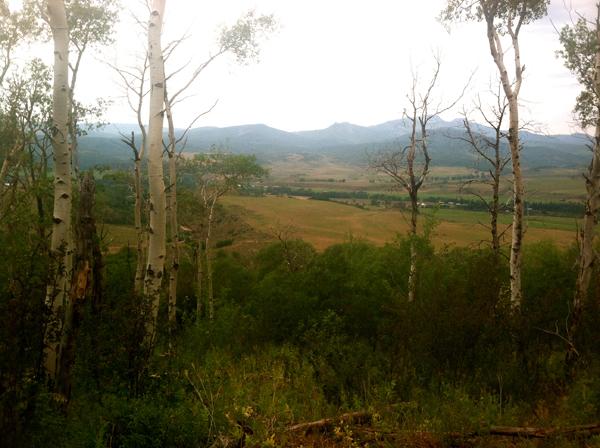 Home Ranch Colorado trails;