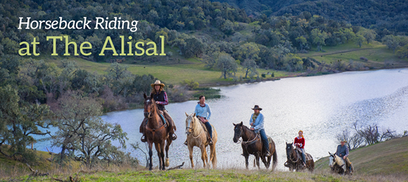 Alisal horseback riding