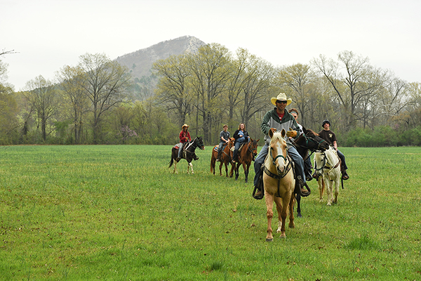 arkansas horseback riding
