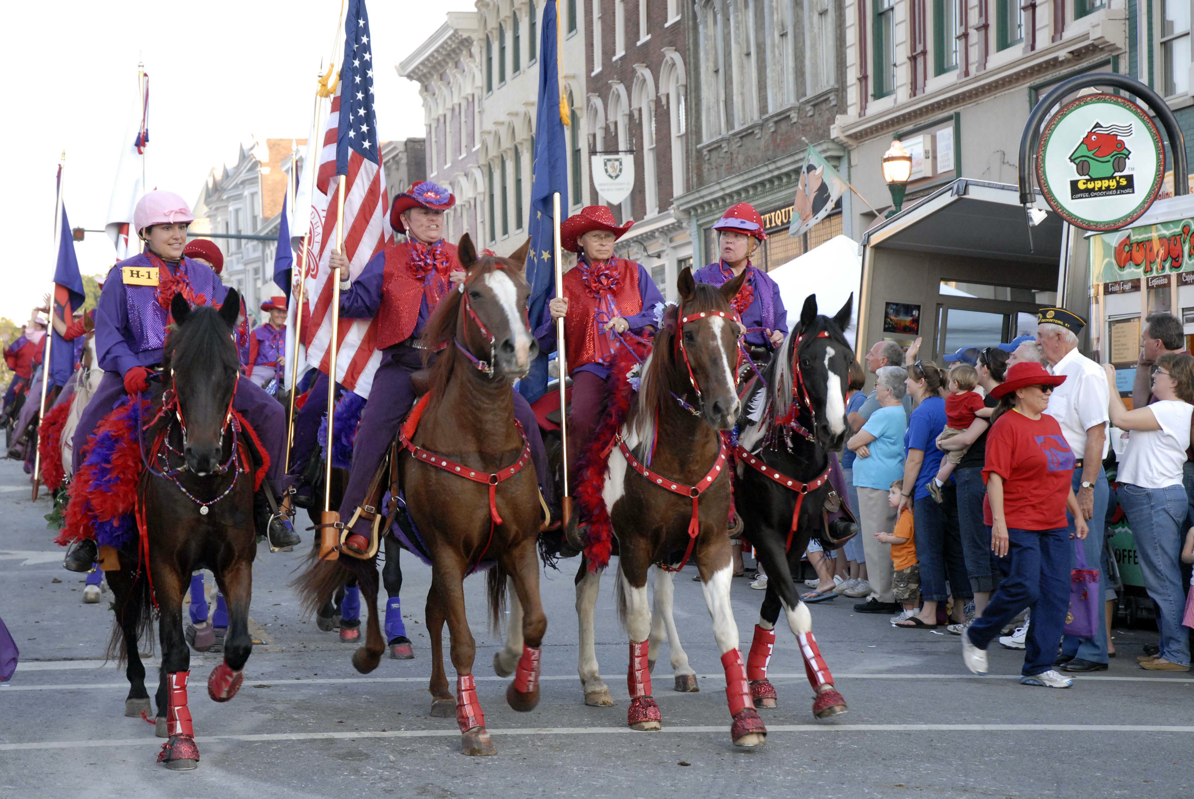 Festival of the Horse in Georgetown Kentucky