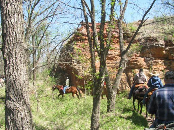 Kanopolis State Park horseback riding kansas