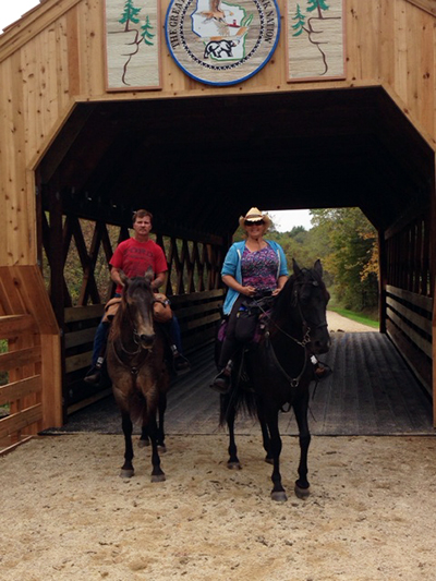 Kickapoo Valley Reserve Horse Trails
