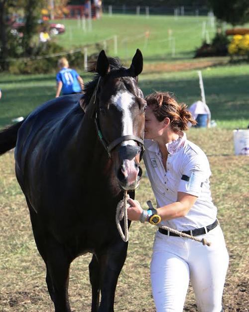 Leah and AP Rolex Horse OTTB