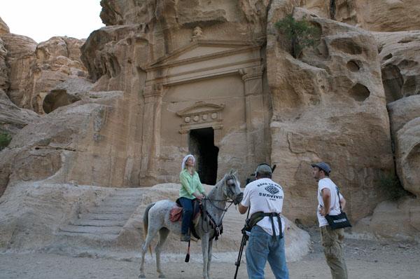 Filming Little Petra