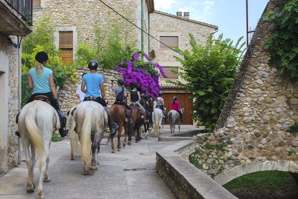 Horseback Riding Catalonia Villages