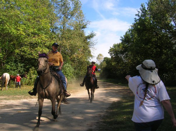 Competitive Mounted Orienteering Horse Ride