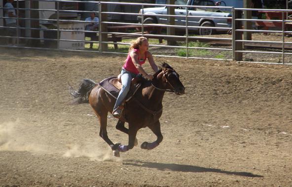 omoksee idaho games on horseback