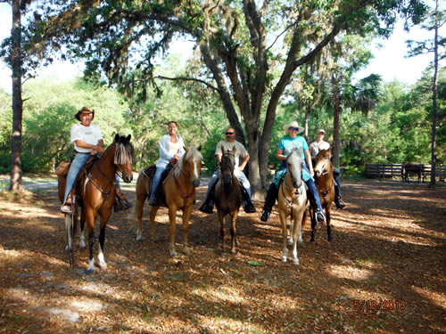 florida trial blazers horseback riding