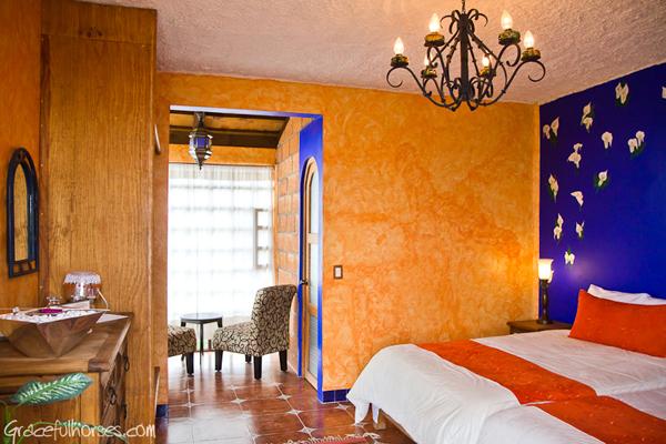 rooms at rancho las cascades mexico